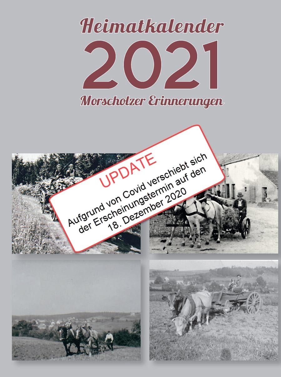 UPDATE Heimatkalender 2021