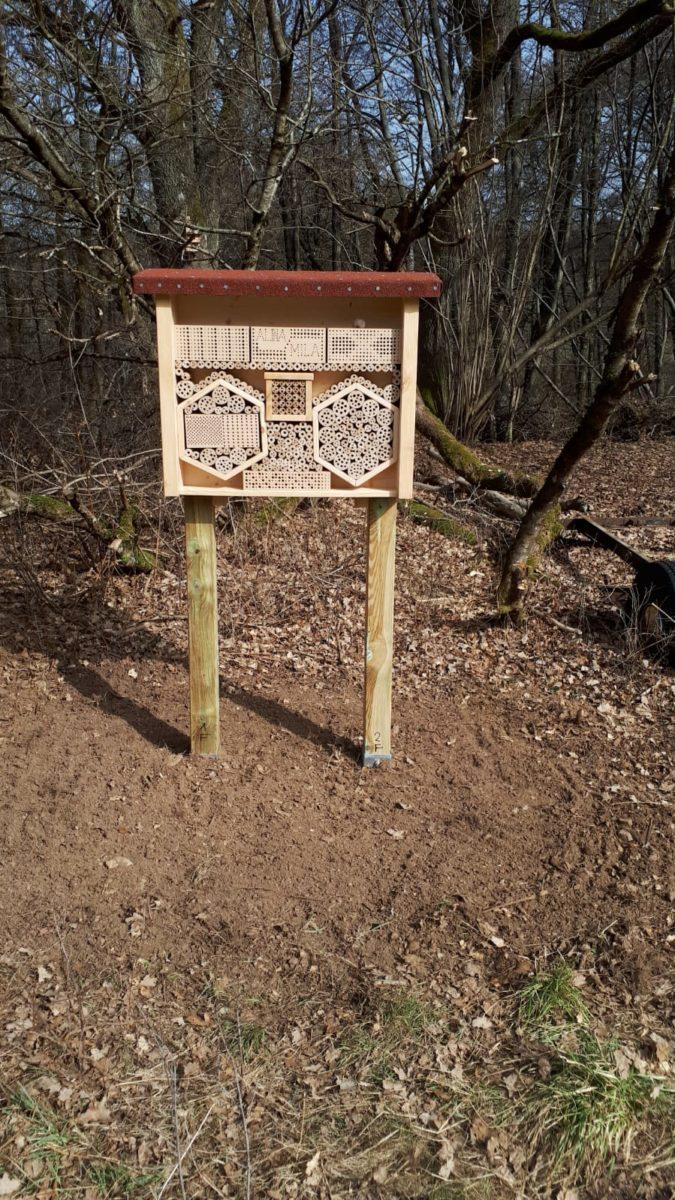 Bienenhotel der Fam. Brücker
