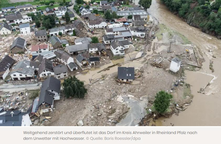 Hochwasser Spendeninfo